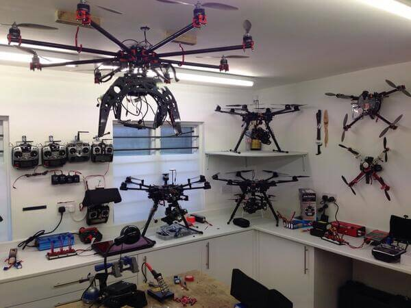 Our drone workshop